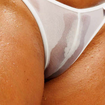 CamelToe transparent gross Bikini String Tanga