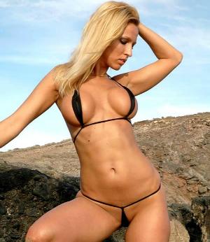 Frau Bikini Nackt