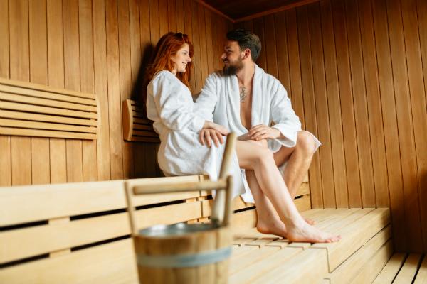 heißer sex in der sauna