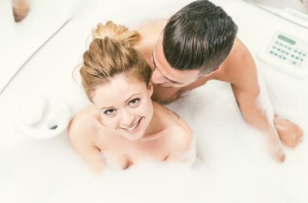 Sex in der Badewanne ist heiß!